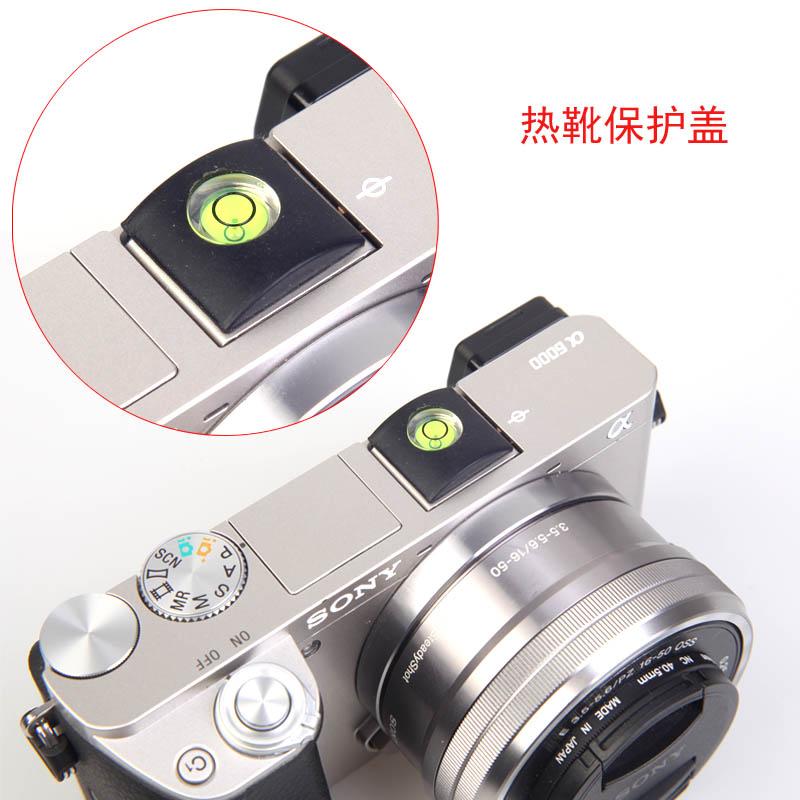 5PCS Flash Hot Shoe Cover Cap Bubble Spirit Level Micro single lens cap For SONY  A6000 A6300 A6500 RX10 RX1 A7 A7R RX100 II