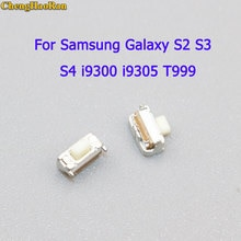 ChengHaoRan-pièces 2-10 pièces   Pour Samsung Galaxy S3 S4 SGH Note2 T999 i9300 I9500 N7100, bouton de clé dalimentation, interrupteur marche/arrêt