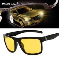 2018 hot sale mens glasses car drivers night vision goggles anti glare polarizer sun glasses polarized driving sunglasses