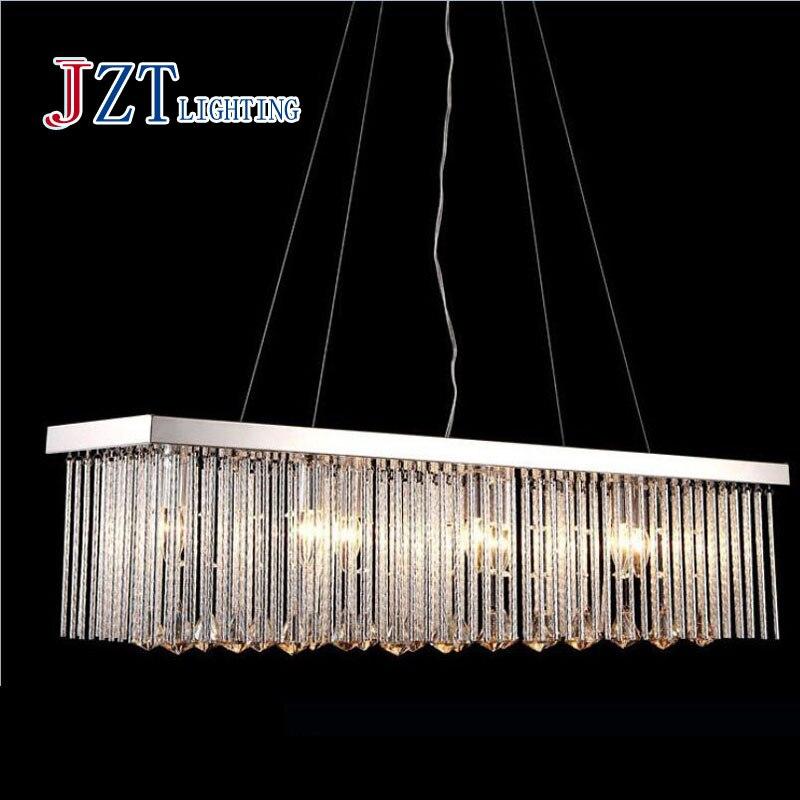 Lámpara colgante tipo araña de cristal para sala de estar, lámpara colgante para comedor, luces caseras LED de noche