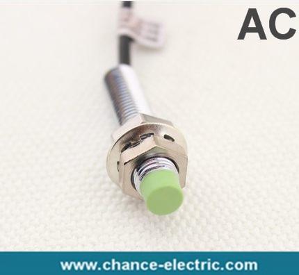Inductivo M8 2mm de distancia interruptor de proximidad autonics serie PR AC sin sensor de envío gratis (PR08-2AO)