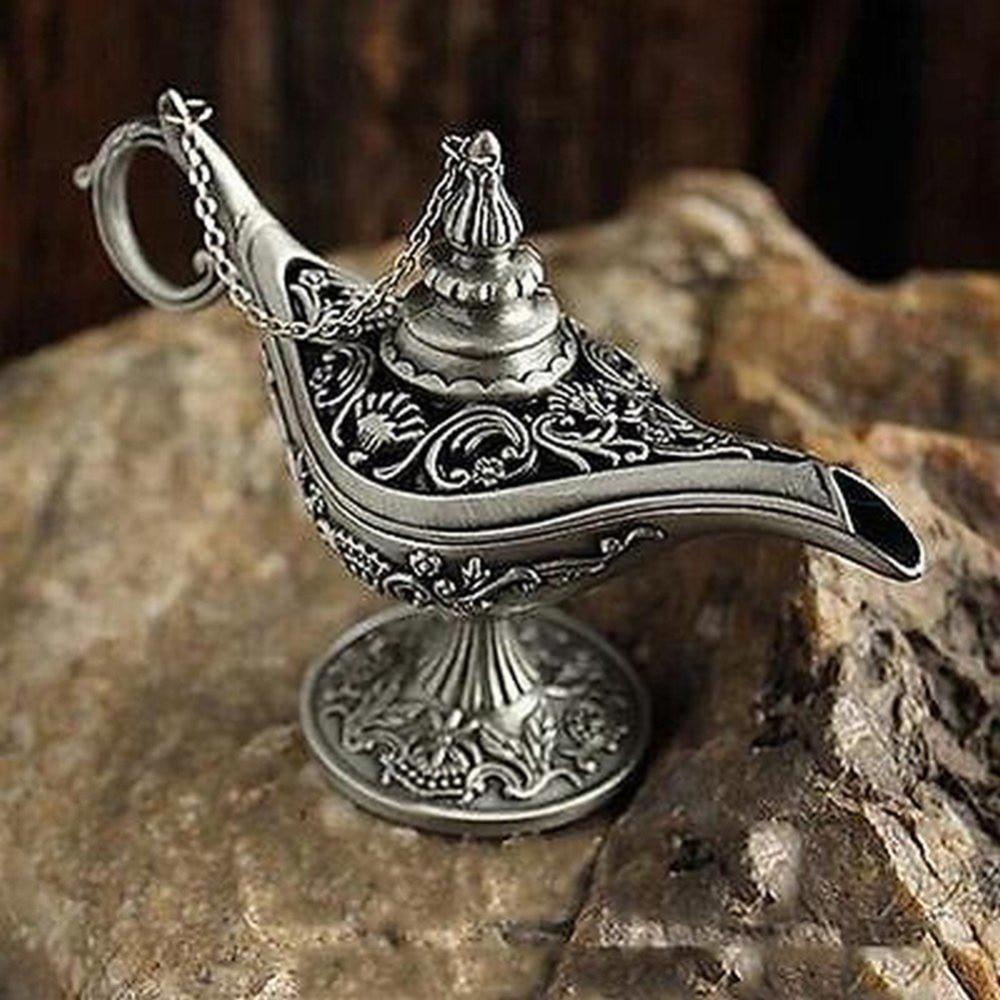 1 pçs retro vintage e gótico presente estanho liga estilo antigo queimador de incenso pote para decoração casa forno de incenso novo