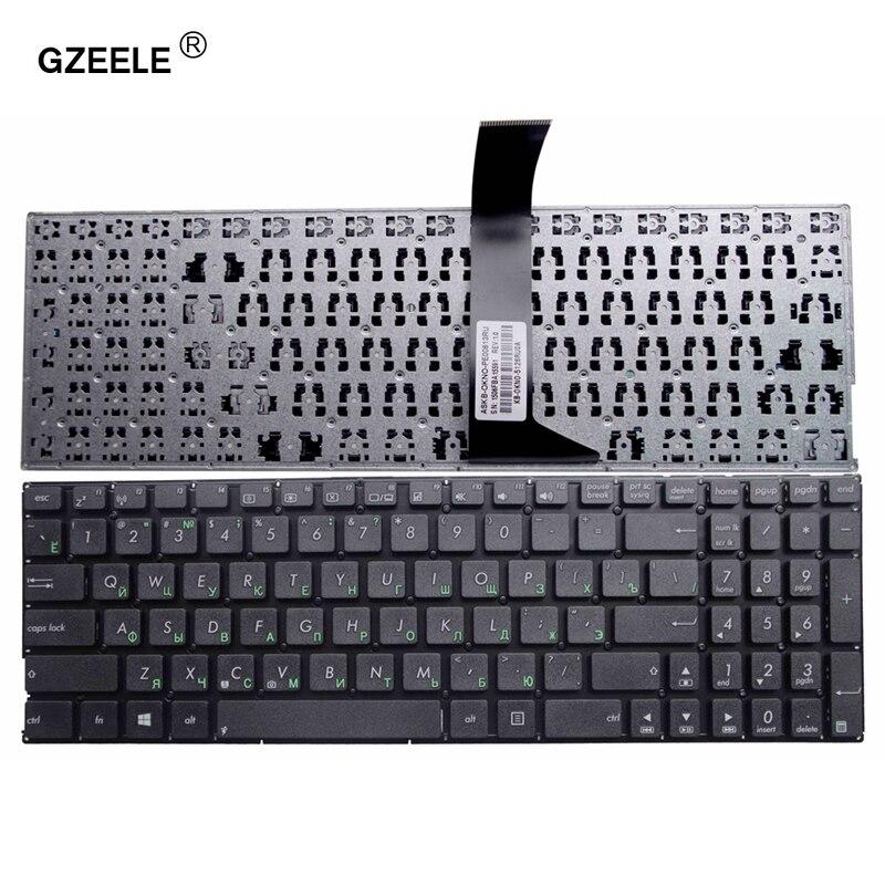 Новая клавиатура GZEELE для ASUS X550LA X550LB X550LC X550LD X550LN X550VB X550VC X550VL RU Русская клавиатура для ноутбука Новая черная