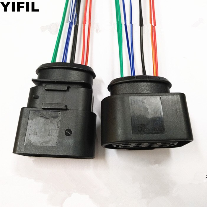 2/4/10 set/lote 8 Pin/Way conector de luz trasera para hombre VW AUDI SKODA 8D0973734 8D0973834