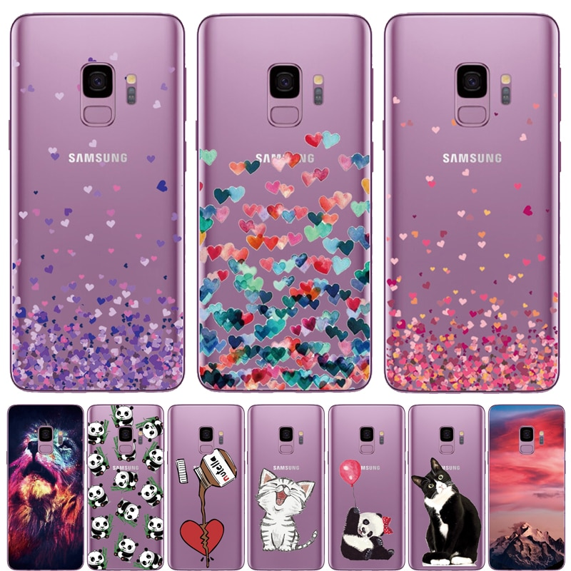 Teléfono funda para Samsung Galaxy S6 S7 borde S8 S9 A3 A5 A8 2018 J510 A320 A520 J3 J330 J530 J2 J5 primer fundas de silicona blanda