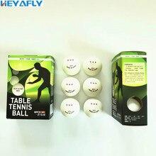 Trois étoiles haute qualité Tennis de Table 3/6 emballage 40MM ABS ROHS matériel compétition formation Ping-Pong balle de Ping-Pong
