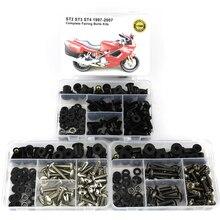 Boulons de vitesse noix de carrosserie en acier   Pour Ducati ST2 ST3 ST4 1997-2007 Kit de boulons de moto complet