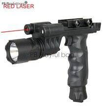 Sports de plein air nouveau CS lampe de poche lampe torche à LED militaire Laser rouge champ aventure chasse lampe de poche Anti-sismique jouet pistolet RD03