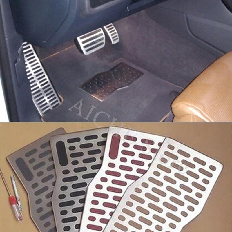 Alfombrillas de aluminio para Pedal de coche, accesorios para Hyundai i35 i40 i20 tucson i30 strimmer i10 elantra sonata L 2 3 2008-2018