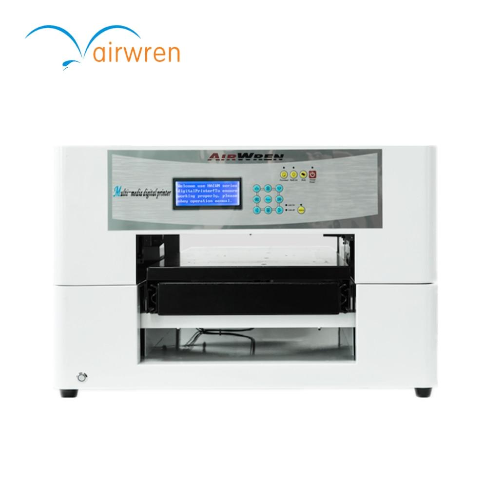 Impresora A3 de tamaño plano con logotipo personalizado, máquina de impresión ecológica