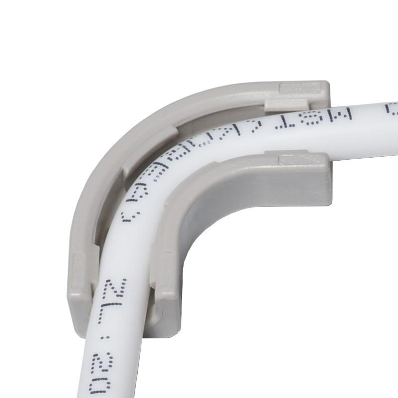 1/4 esquina RO agua conector rápido POM codo PE tubería accesorio filtro sistema piezas