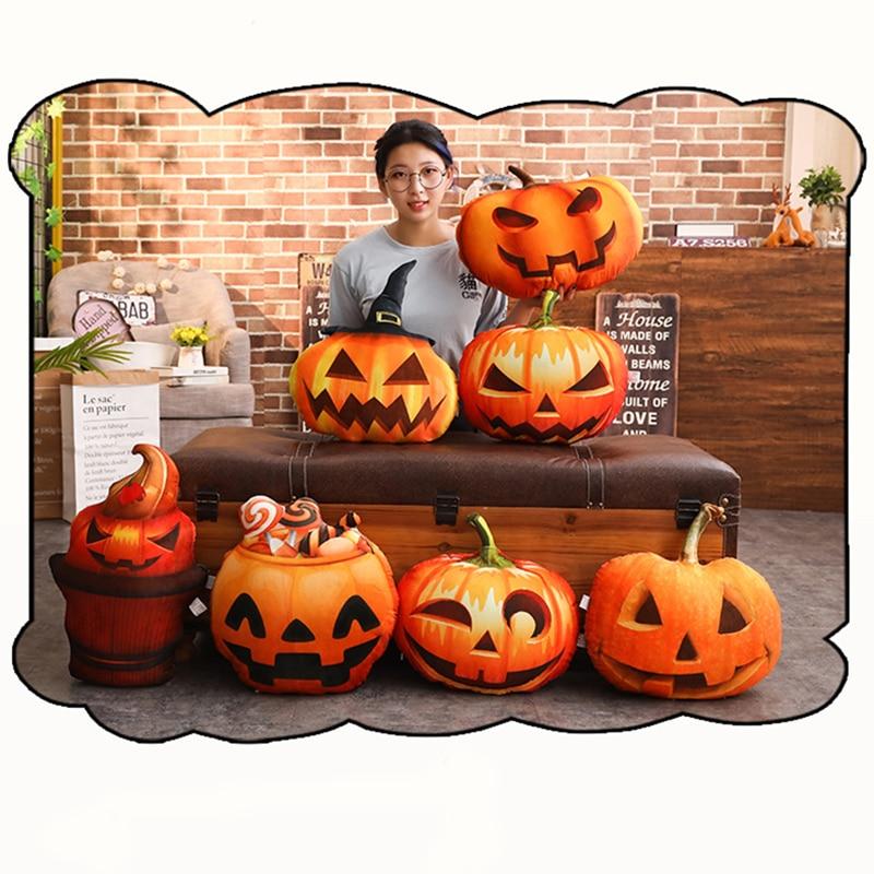 Halloween fiesta bruja calabaza funda para almohada de Navidad funda de cojín sofá decoración feliz Halloween para el hogar chico regalo de Navidad