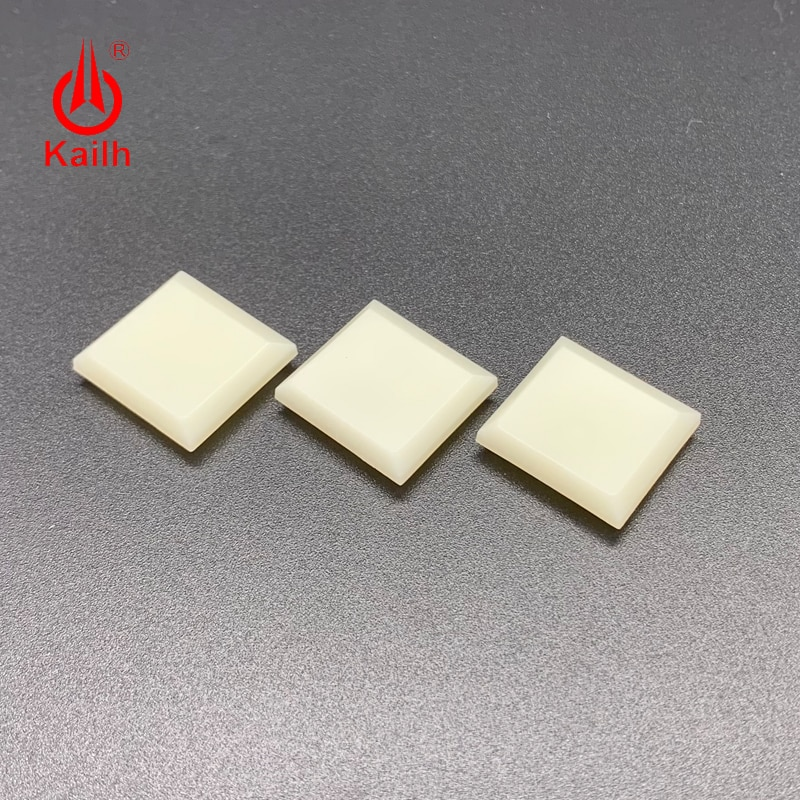 Купить с кэшбэком Kailh 1.0u Low Profile Keycaps 1350 chocolate switch special cream white for gaming DIY mechanical keyboard ABS material 30PCS
