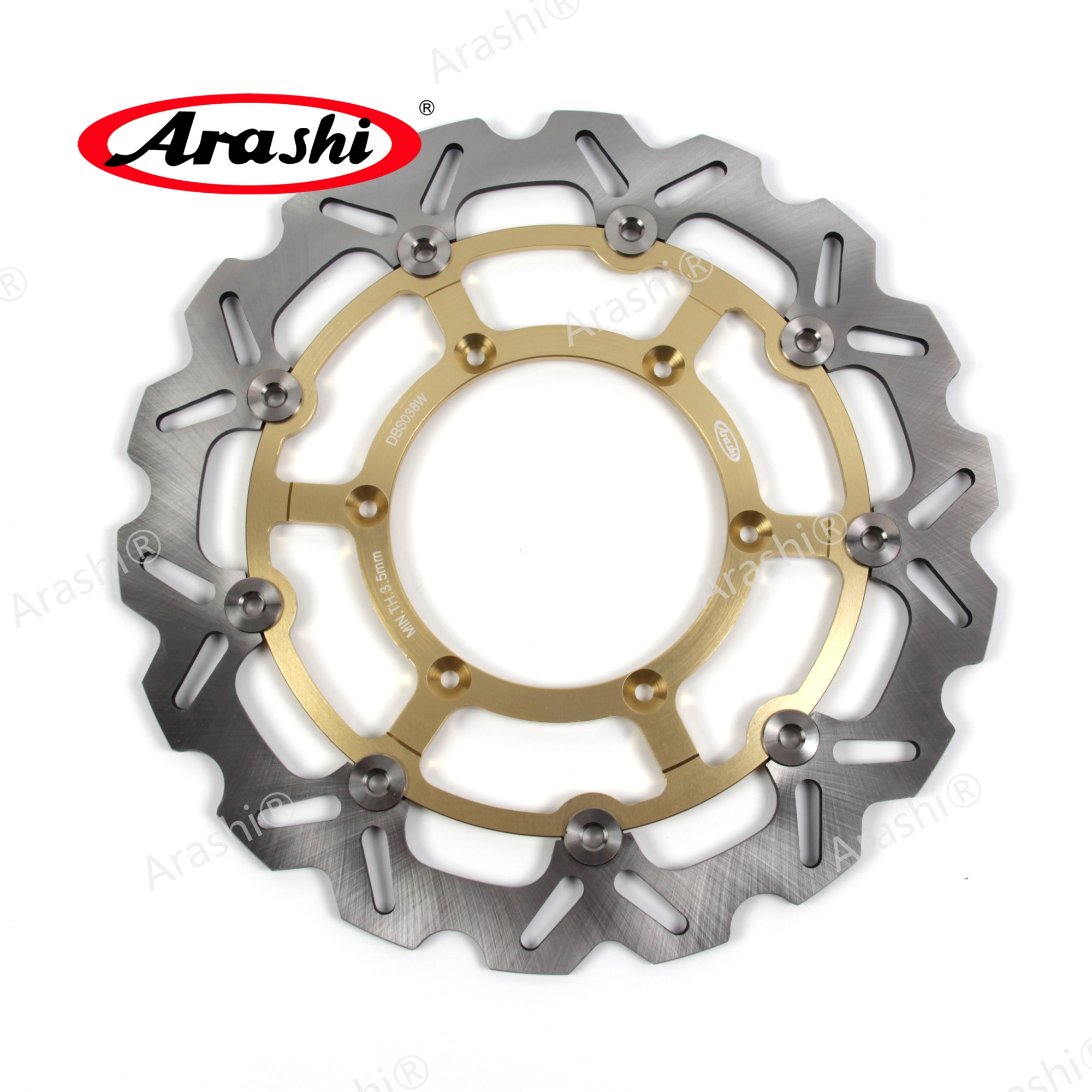 ARASHI CNC передний тормозной диск для SUZUKI DRZ SM 400 2005-2009 тормозные диски роторы DRZ-SM DRZ400SM 2005 2006 2007 2008 2009