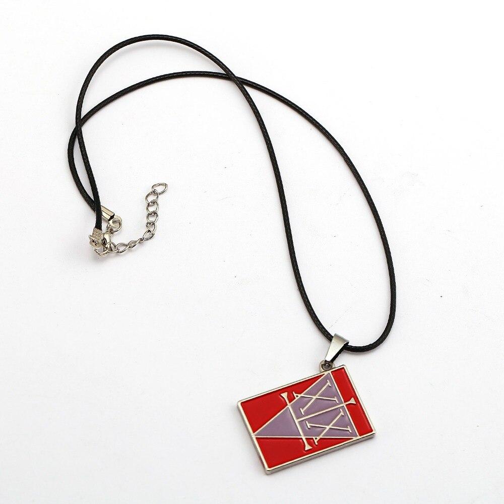 10 قطعة/الوحدة هنتر x هنتر قلادة غون FREECSS ترخيص قلادة الأزياء حبل سلسلة القلائد النساء الرجال سحر الهدايا أنيمي مجوهرات
