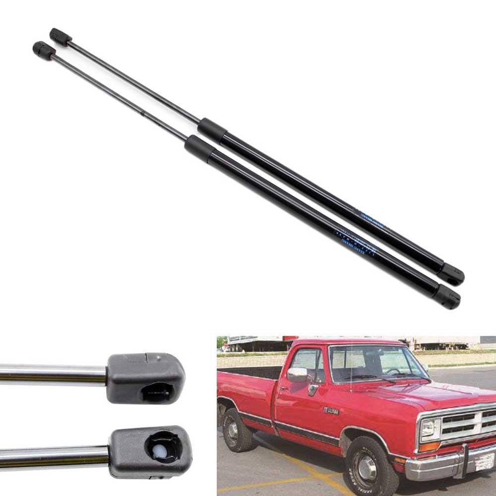 2 uds coche soportes de elevación de capó resortes a gas amortiguadores para Dodge Ram 1500, 2500, 3500, 5500 de la tripulación de cabina camioneta 2002-2008, 2009, 2010, 18,98 pulgadas
