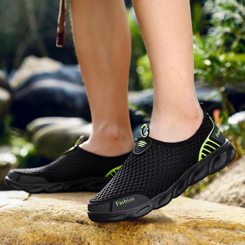 MAISMODA Water Shoes for Men Women Outdoor Beach Non-slip Aqua Shoes Super Light Weight Cheap Wholesale Upstream Creek