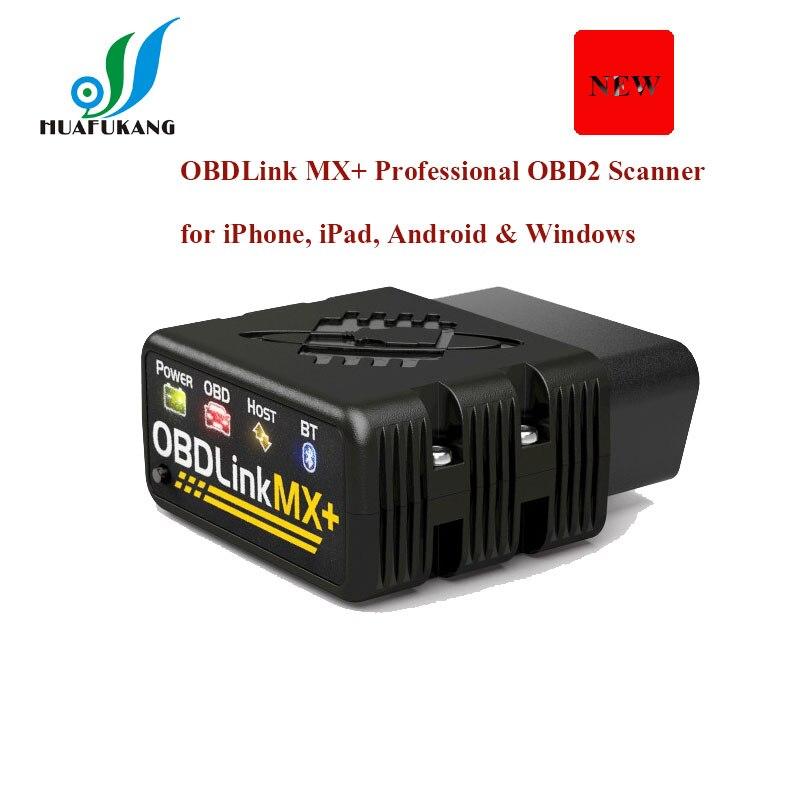 OBDLink MX + מקצועי OBD2 סורק עבור iPhone, iPad, אנדרואיד & Windows חדש הגעה