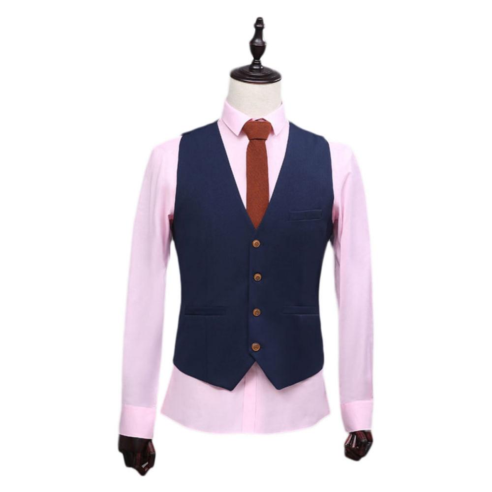 Chaqueta chaleco pantalones traje de lujo hombre de gama alta personalizado negocios...