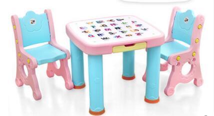 Детские Настольные стулья и столы. Пластиковый обучающий стол. Стул детские столы и стулья дэми набор мебели 1 радуга