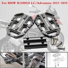 Для BMW R1200GS R1200 GS R 1200 GS 2013-2017 CNC алюминиевая заготовка для мотоцикла широкие подножки педали для ног