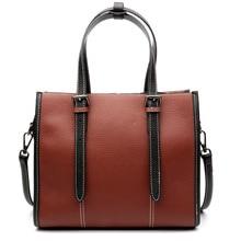 Nouveau 2018 femmes en cuir sac à bandoulière vache sac sacs à main décontractés petit sac messenger mode 100% en cuir véritable, y compris lexpédition