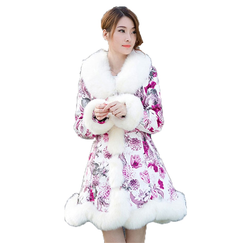 Faux Fur Coat Winter Women S-3XL Plus Size European and American Long Sleeve White Red Blue Yellow Fashion Faux Fur Jacket LR307