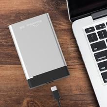 Blueendless External HDD Enclosure Aluminum Hdd Box USB 3.1 Type C to USB A/Type C Hdd 2.5 Case Sata Hard Drive Box Laptop#30