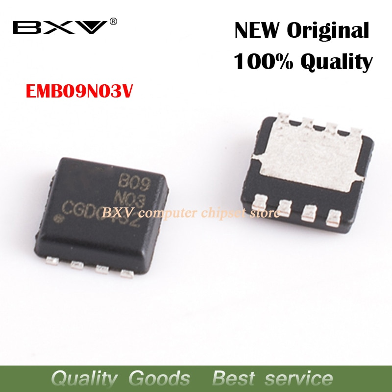 5 pièces EMB09N03V B09N03V B09N03 3mm * 3mm MOSFET QFN-8 nouveau original livraison gratuite