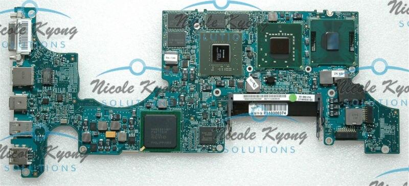 غير عيب EMC 2199 MB166 661-4625 661-4963 820-2262-A 2.5GHz T9300 8600M G84 603 اللوحة مجلس منطق ل ماك بوك A1261 2008