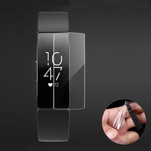 5Pcs Soft Tpu Clear Beschermende Film Guard Voor Fitbit Inspire/ Inspire Hr Armband Smart Polsband Full Screen Protector cover