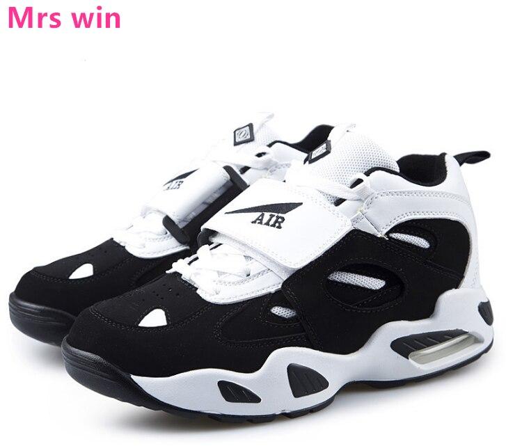 Zapatos deportivos de exterior para hombre y mujer, zapatillas de baloncesto con amortiguación de Amortiguador de aire, ropa de camping, zapatillas transpirables de vaca láctea