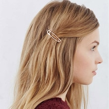 Vintage abalorio de metal horquilla lindo broche para Clip de cabello forma de alfiler de pelo Clip mujeres de pelo elegante mujer de pelo, bohemio accesorios #15
