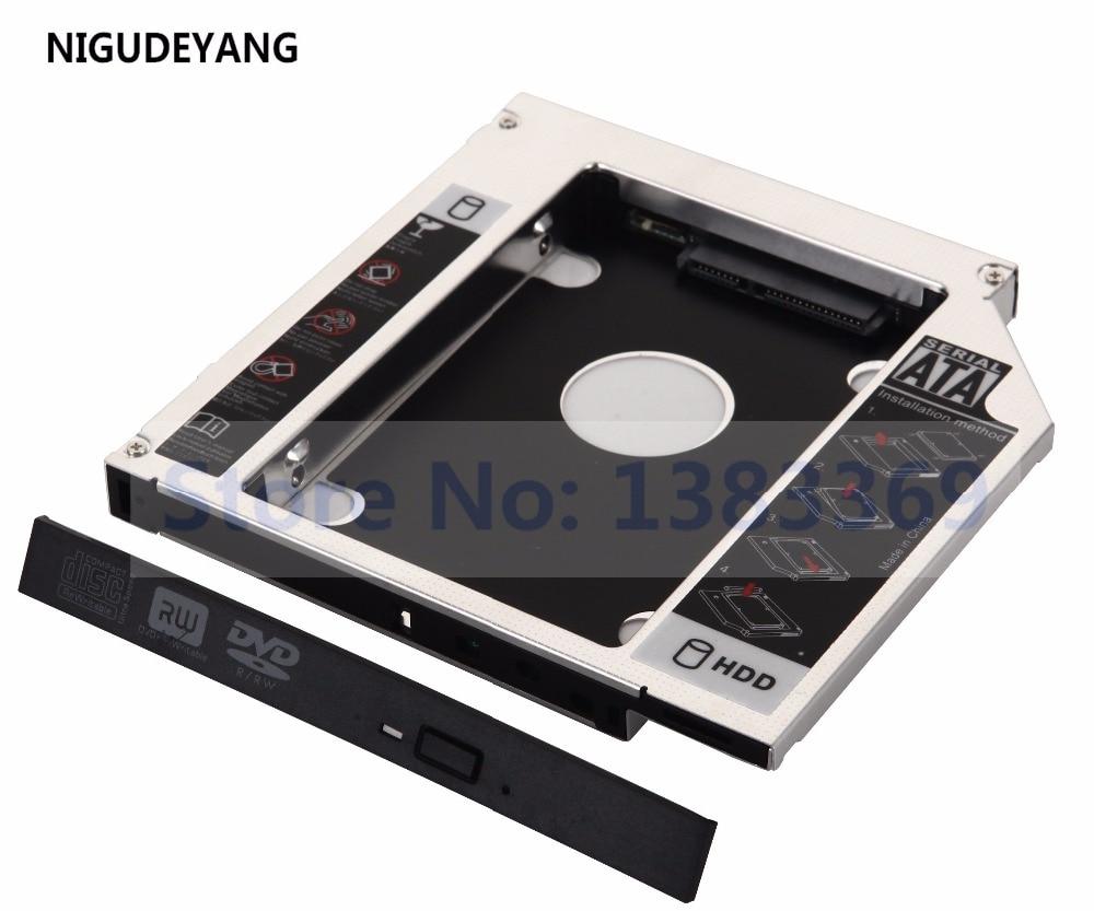 NIGUDEYANG SATA 2nd Disco Duro Caddy para Acer Aspire 5750 5735 5335 reemplazar DVR-TD11RS DVD