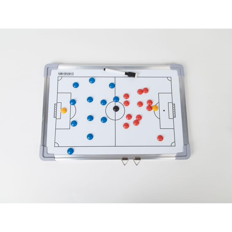 MAICCA Football Coaching Board Super Magnetic Tactical plate big book set with Pen Teaching Clipboard Soccer Coach board недорого