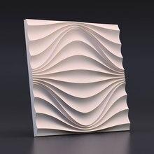 3D Dekorative beton ziegel Wand silikon formen custom design zement wand formen gips ziegel formen 28*1,7 cm