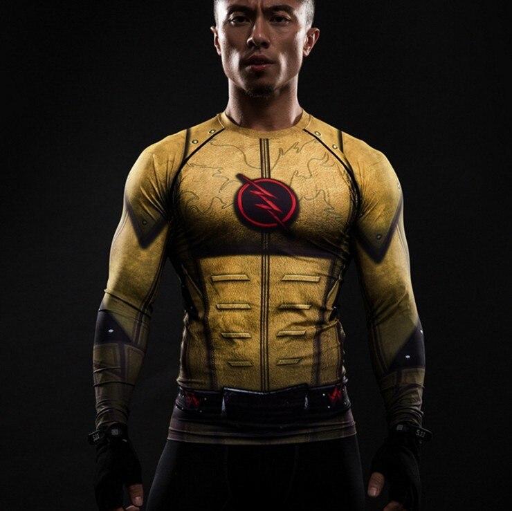 2019 summer superhero flash/captain America 3D printed T-shirt mens casual sports fitness mens and womens t-shirts
