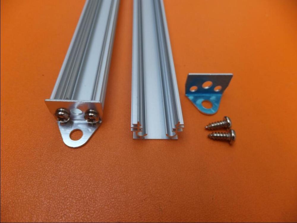 Delgada Línea de perfil LED aluminio, accesorios de iluminación, Canal con cubierta de pc opal o cubierta transparente 2 m/unids 50 m/lote