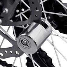 Rad up Sicherheit Anti Theft Heavy Duty Motorrad Fahrrad Moped Roller Disk Bremsscheibe motorrad sperre fahrrad lock alarm heißer P #