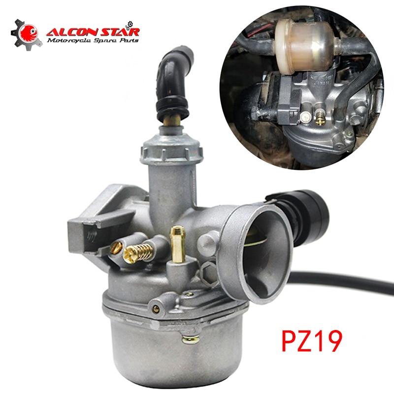 Alconstar 19mm carburador Manual PZ19 para motocicleta todoterreno China 50 70 90 110CC