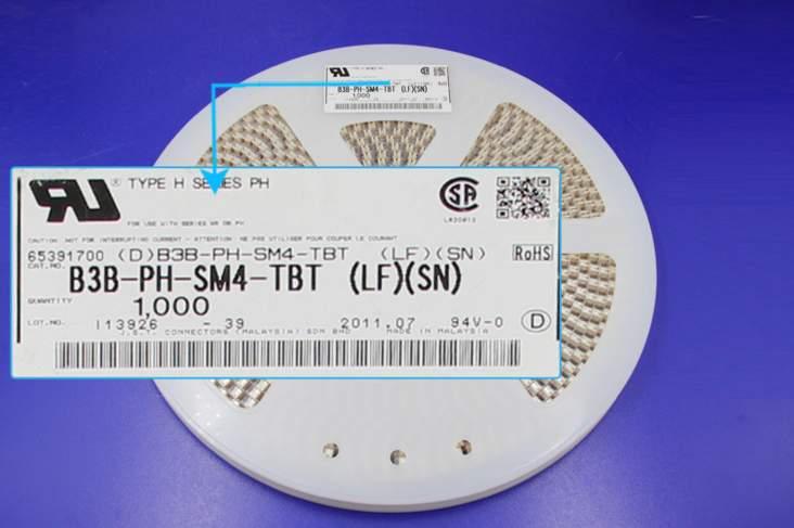 B3B-PH-SM4-TBT رؤوس موصلات محطات إيواء 100% جديد و الأصلي أجزاء B3B-PH-SM4-TBT(LF)(SN)