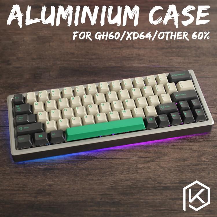 بأكسيد الألومنيوم الحال بالنسبة xd60 xd64 60% ألواح أكريليك لوحة المفاتيح المخصصة الاكريليك الناشر gh60 xd64 xd60 60% تدوير الداعم