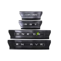 inside threshold sill scuff plates guard welcome pedal cover board sticker for range rover sport vogue interior accessories