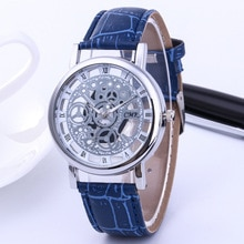 Relojes Mujer 2019 new Hollow Transparent Leather Brand Luxury Casual Watches Women  Quartz Watch Clock Ladies Wrist Watch