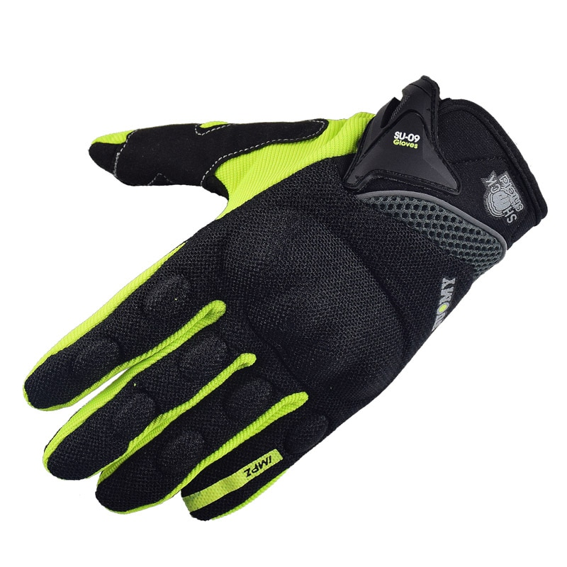 SUOMY, nuevos guantes para motocicleta, guantes de carreras verdes para Motocross, guantes de Ciclismo de dedo completo para motocicleta, guantes de verano para moto