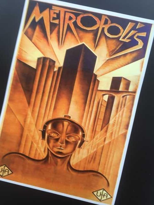 Cartel de metrópoli de estilo clásico, decoración en papel Kraft, póster DIY de lienzo de pared pintura pegatina, regalo de decoración delicado para Barra de casa