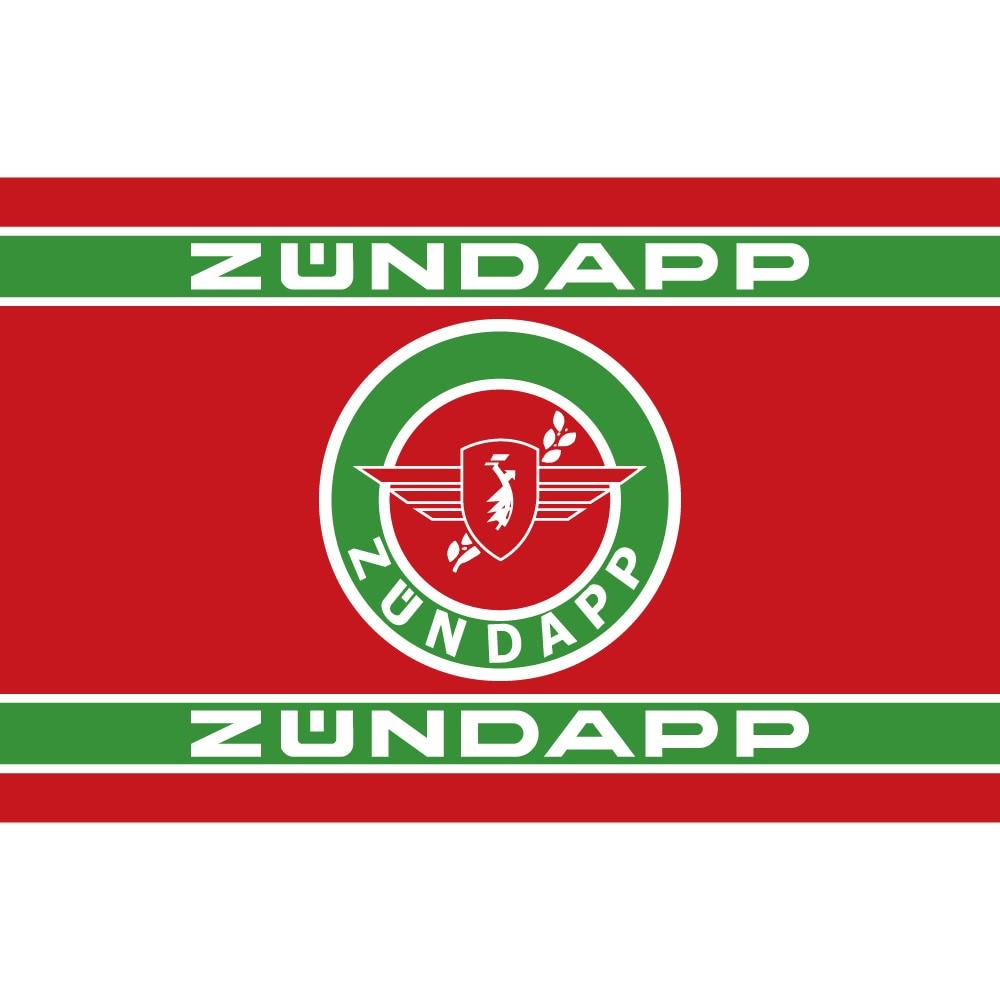 ZUNDAPP drapeau de moto en Polyester   Drapeau de moto en Polyester 90*150cm 60*90cm 3X5FT 90x150cm pour la maison, le bureau, bannière de Bar
