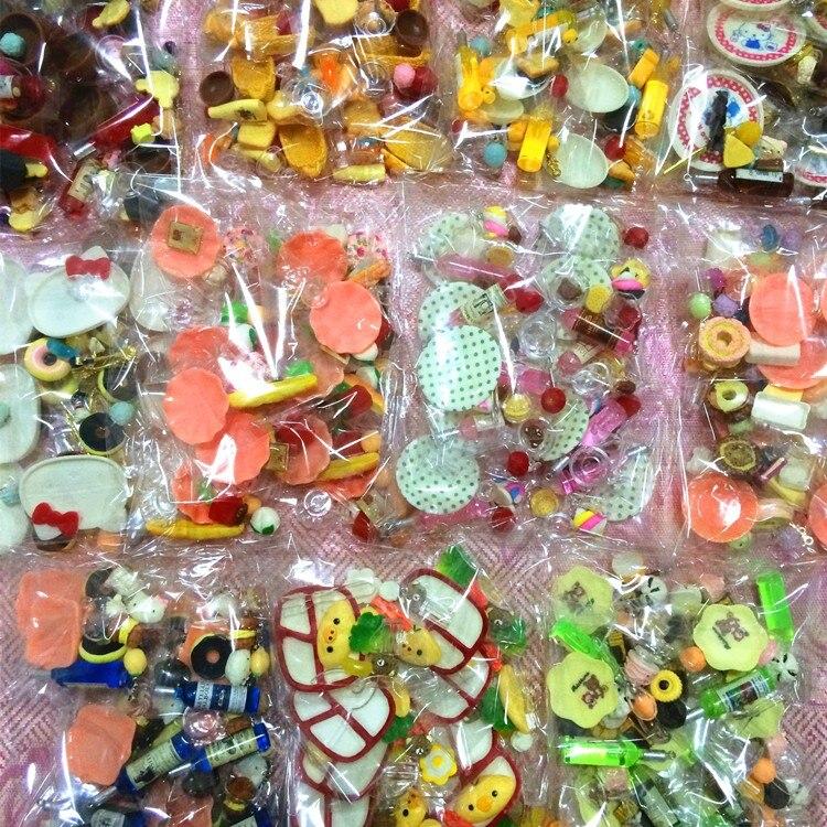 60 sztuk/partia Doll re-ment Mini żywności stołowe miniatury piękny domek dla lalek posiłek pić Megahouse dla barbie BJD Doll House zagraj zabawki