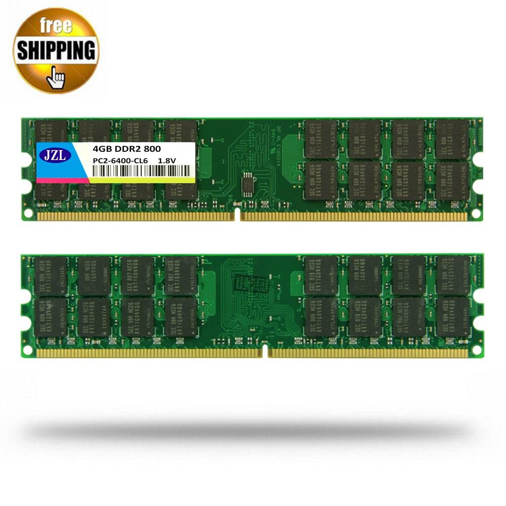 JZL Memoria de 4GB * 2 = 8GB PC2-6400 DDR2 800MHz 240-PIN...