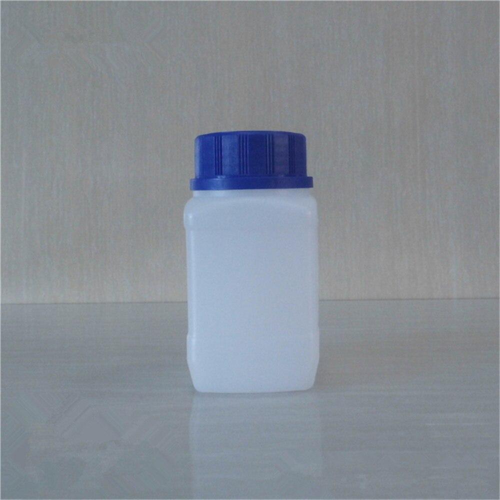 5x250 мл Белый пластиковый флакон для реагента, флакон для образца, флакон, пластиковая крышка, синий винт, винт на крышке